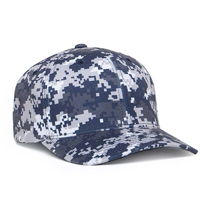 Delta Digital Camo Cap in Navy