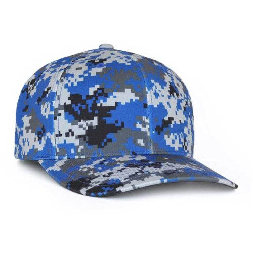 Delta Digital Camo Cap in Royal