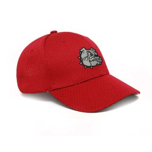 Moisture Management, Adjustable Baseball Cap in Cardinal