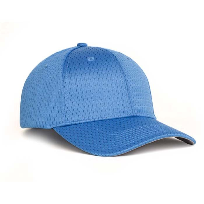 Moisture Management, Adjustable Baseball Cap in Columbia Blue