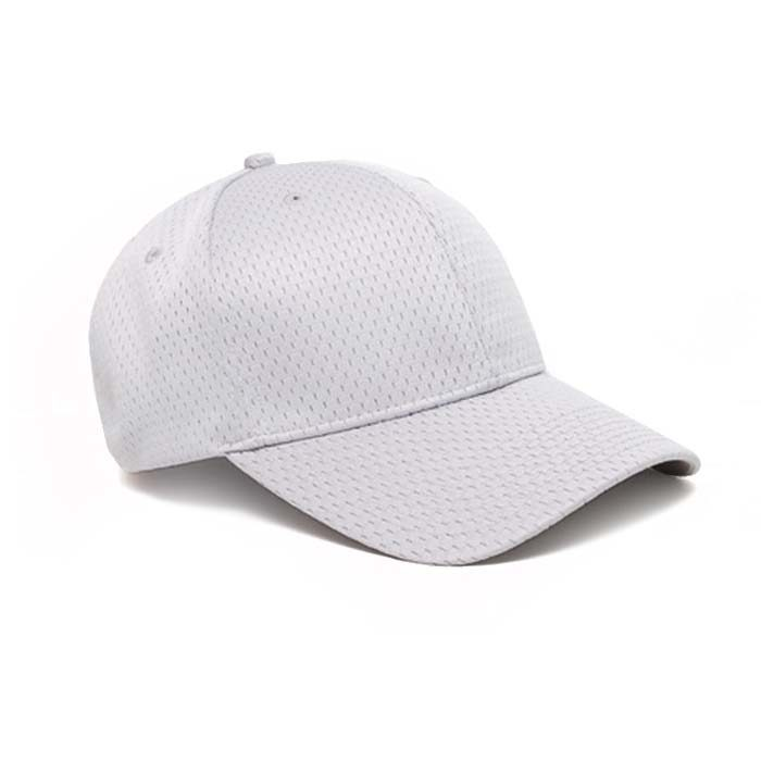 Moisture Management, Adjustable Baseball Cap in Silver
