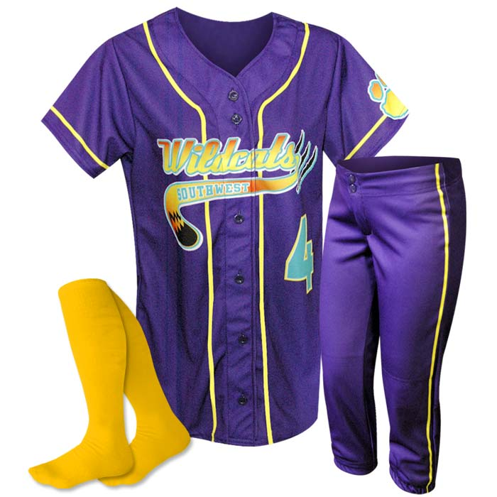ProSphere 1 Color Piping Softball Uniform