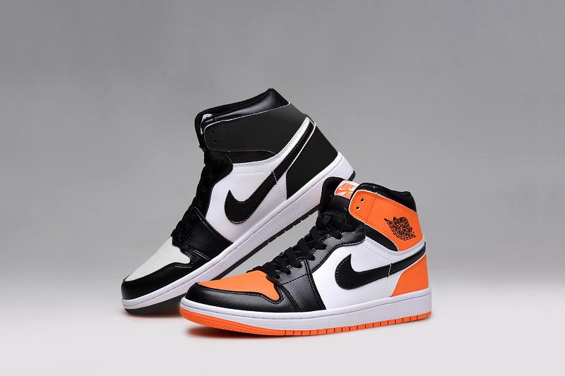 White and Black VS. White, Black and Orange