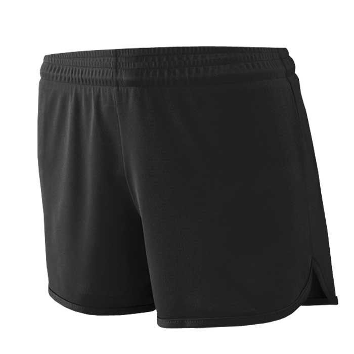 Women's Black Accelerate Track Uniform Shorts