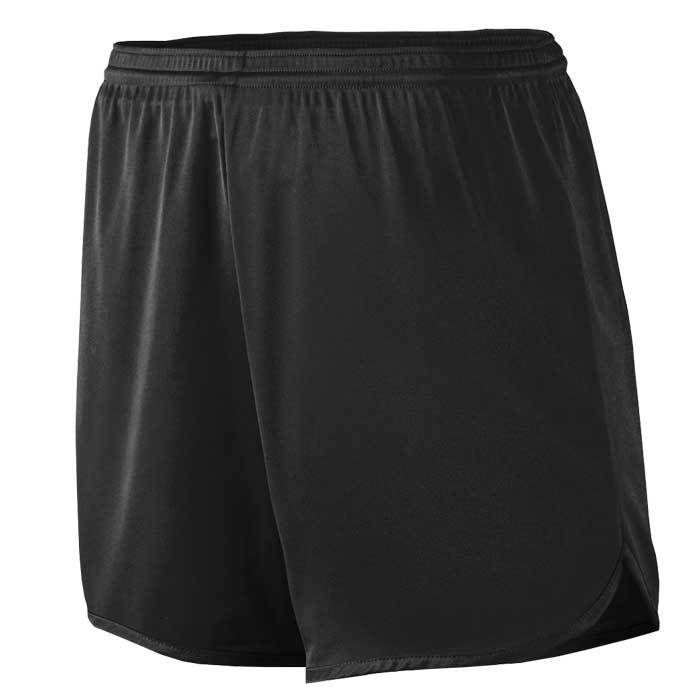 Men's Black Accelerate Track Uniform Shorts