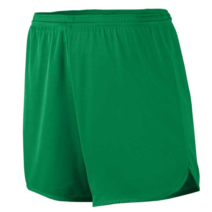 Men's Kelly Green Accelerate Track Uniform Shorts