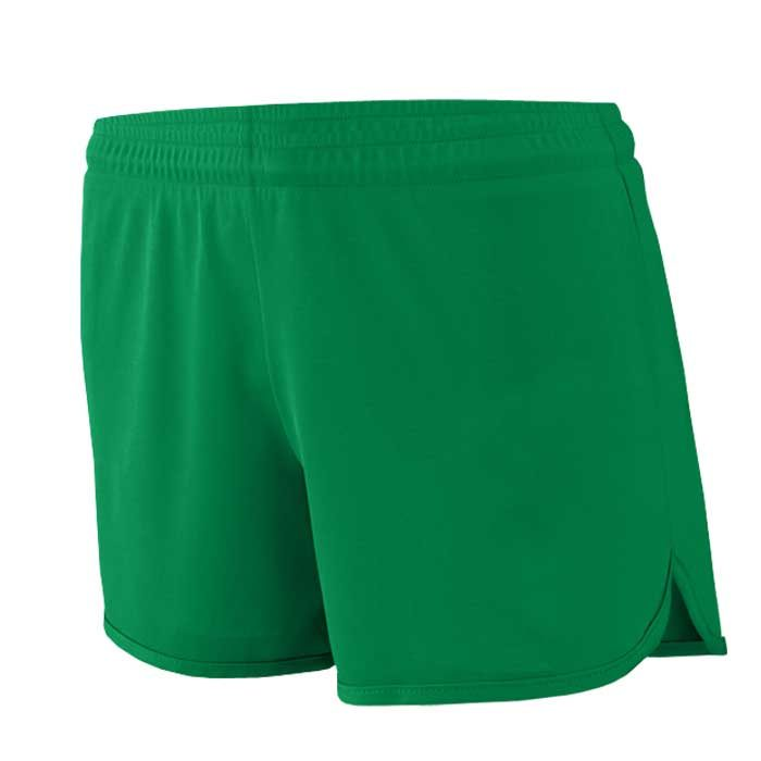 Women's Kelly Green Accelerate Track Uniform Shorts