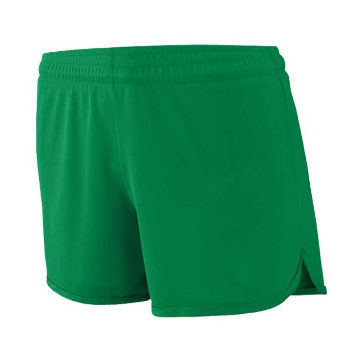 Women's Kelly Green Accelerate Track Uniform Shorts