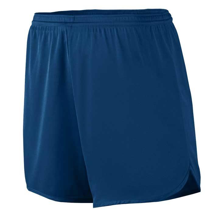 Men's Navy Blue Accelerate Track Uniform Shorts