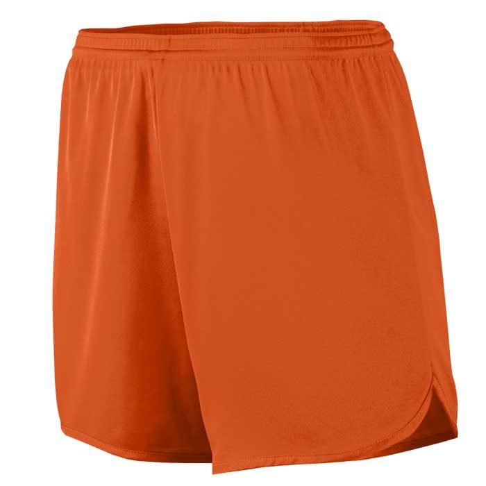 Men's Orange Accelerate Track Uniform Shorts