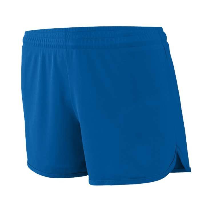 Women's Royal Blue Accelerate Track Uniform Shorts