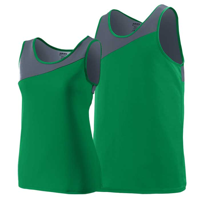 Kelly Green and Graphite Accelerate Track Uniform Singlet