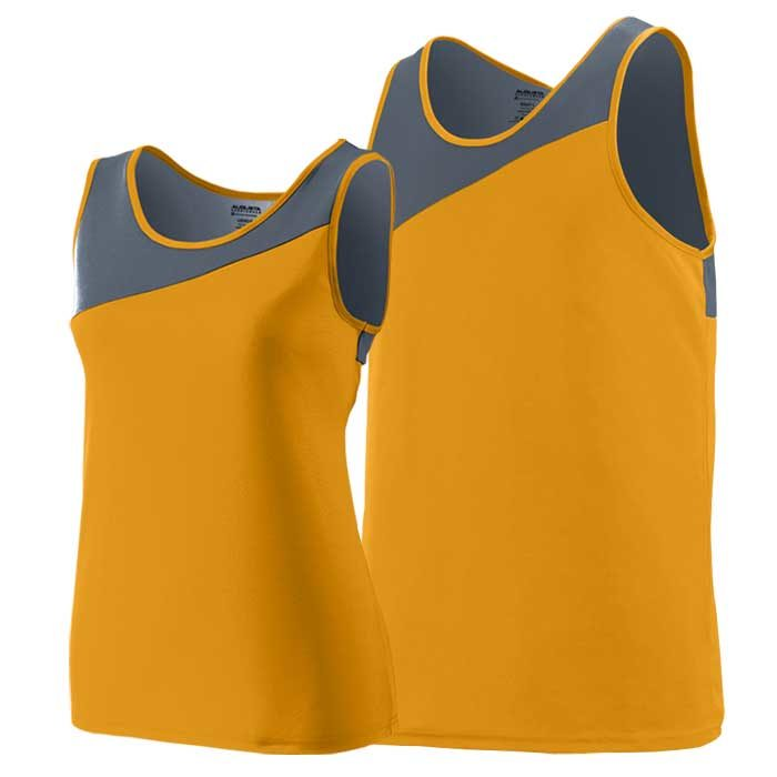 Gold and Graphite Accelerate Track Uniform Singlet