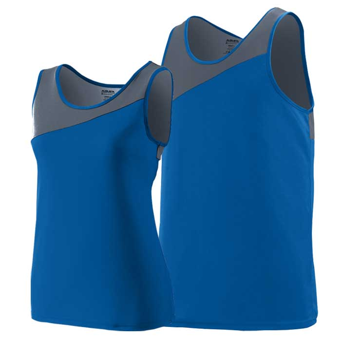 Royal Blue and Graphite Accelerate Track Uniform Singlet