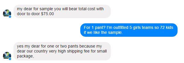 High Ship Costs at Alibaba.com