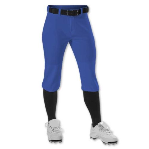 Royal Blue Alleson Knicker Softball Pants