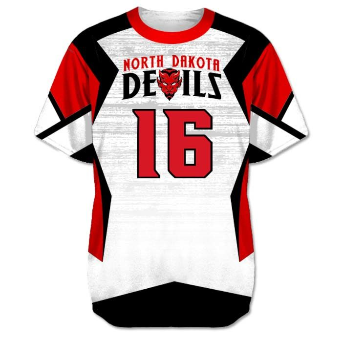 Custom Sublimated Amped Concave Flag Football Jersey