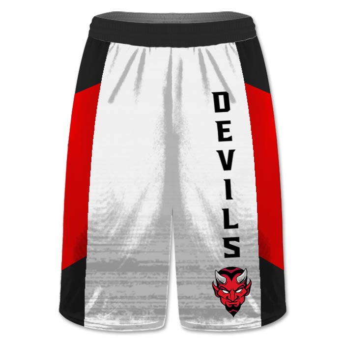 Custom Sublimated Amped Concave Flag Football Shorts