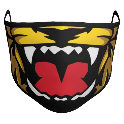 Custom Sublimated Amped Face Mask Mascot