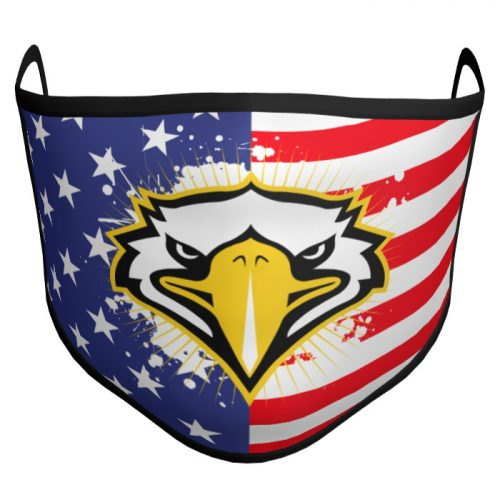 Custom Sublimated Amped Face Mask Patriotic