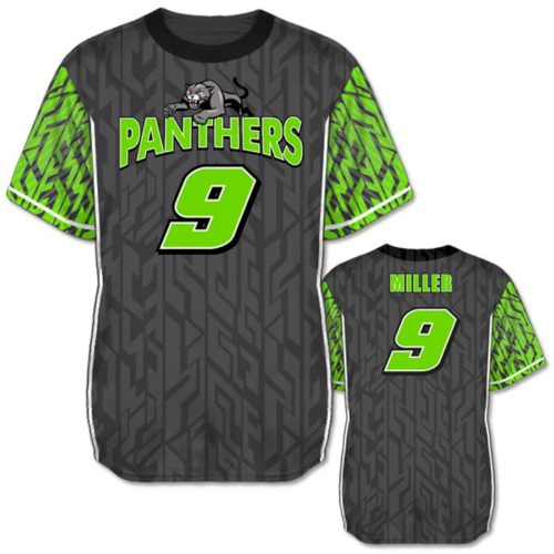 Custom Sublimated Amped Galloping Ghost Flag Football Jersey