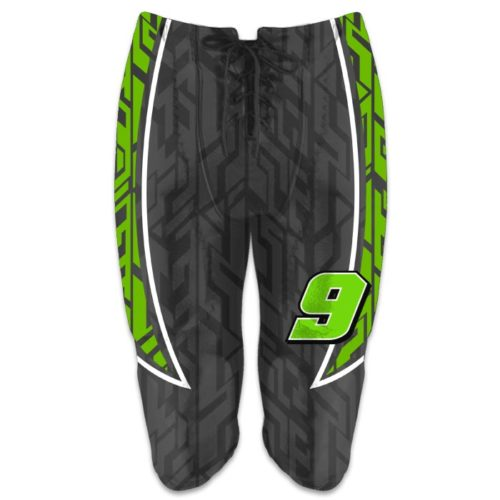 Custom Sublimated Amped Galloping Ghost Football Pants