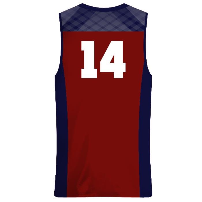 Custom Sublimated Amped Got Game Basketball Uniform Jersey Back