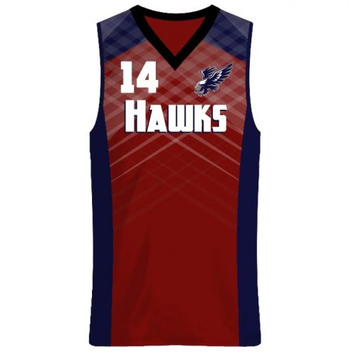 Custom Sublimated Amped Got Game Basketball Uniform Jersey Front