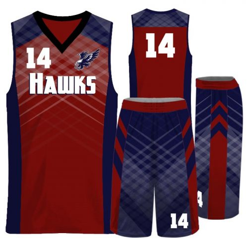 Custom Sublimated Amped Got Game Basketball Uniform