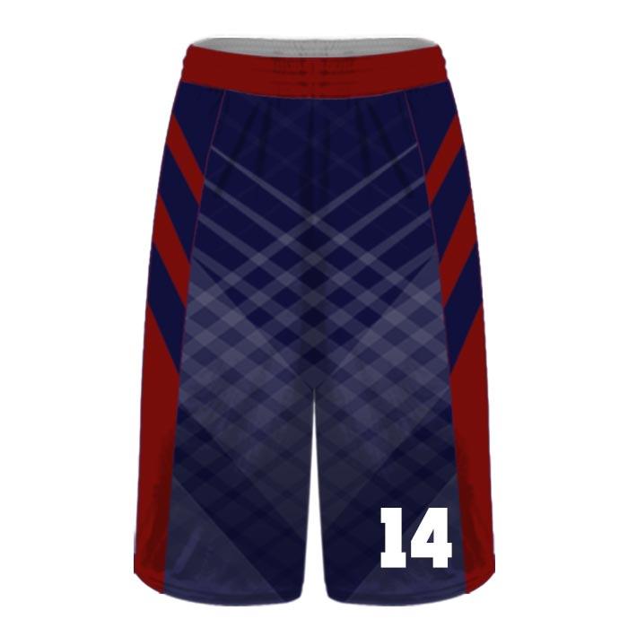 Custom Sublimated Amped Got Game Basketball Uniform Shorts Front