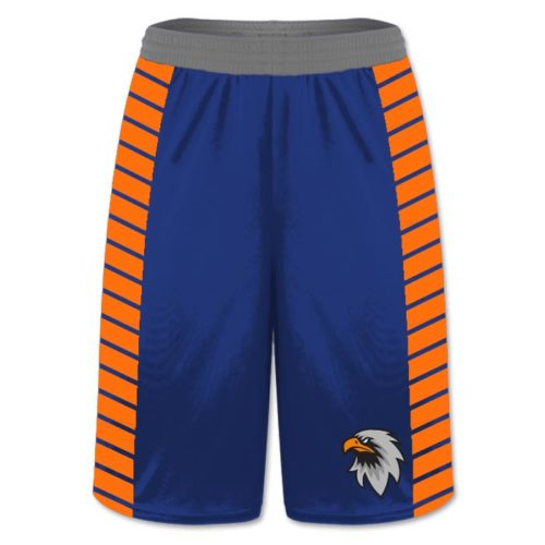 Custom Sublimated Amped Gridiron Flag Football Shorts