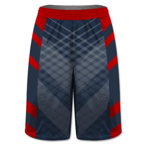 Custom Sublimated Amped Iron Man Flag Football Shorts
