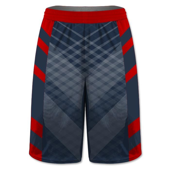 Custom Sublimated Amped Iron Man Flag Football Shorts