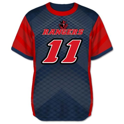 Custom Sublimated Amped Iron Man Flag Football Jersey