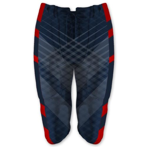 Custom Sublimated Amped Iron Man Football Pants
