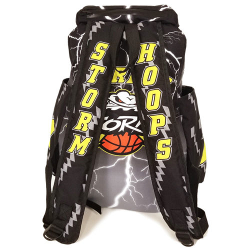 Custom Sublimated Amped Lightning Backpack for Basketball