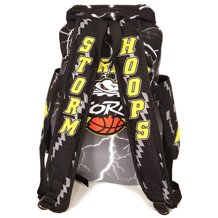 Custom Sublimated Amped Lightning Backpack for Basketball