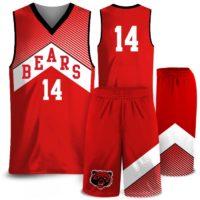Amped North Icon Custom Sublimated Basketball Uniform