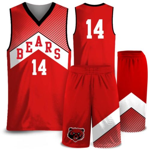Amped North Icon Custom Sublimated Basketball Uniform