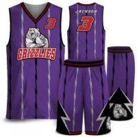 Amped North Original Basketball Uniform