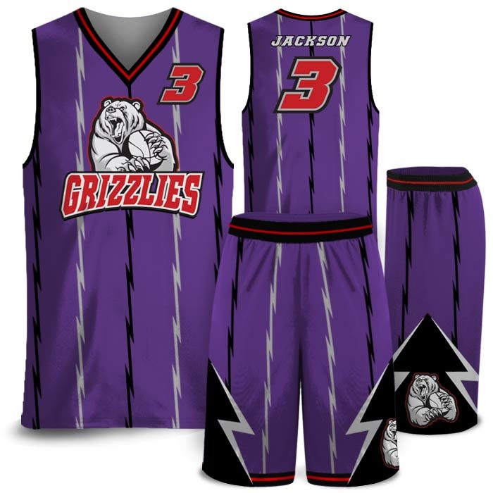 Amped North Original Basketball Uniform