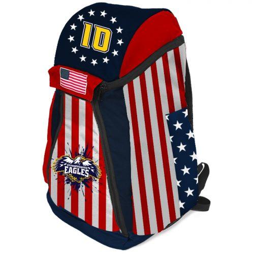 Sublimated Baseball, Softball Amped Patriotic Bat Pack