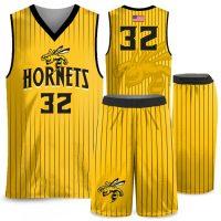 Custom Sublimated Amped Seismic Basketball Uniform