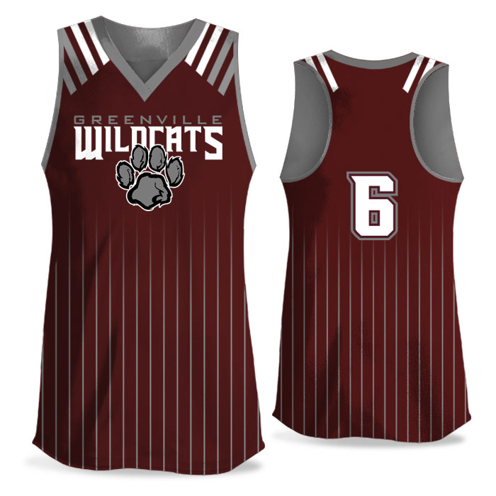Custom Sublimated Amped Upper Deck FP Jersey Racerback