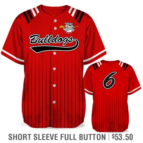 Amped Upper Deck Custom Baseball Jersey Sublimated