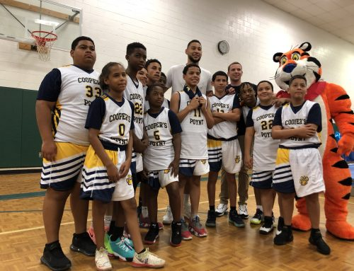 NBA Star Ben Simmons Teams Up with Mission Tiger to Help Save Middle School Sports