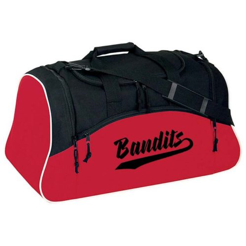 Heavy Duty Condition Duffel Bag red