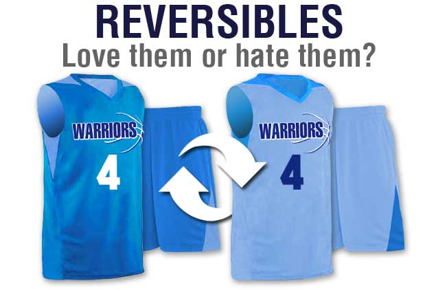 ef65bd870326 Reversible Basketball Uniforms - A Love Hate Relationship