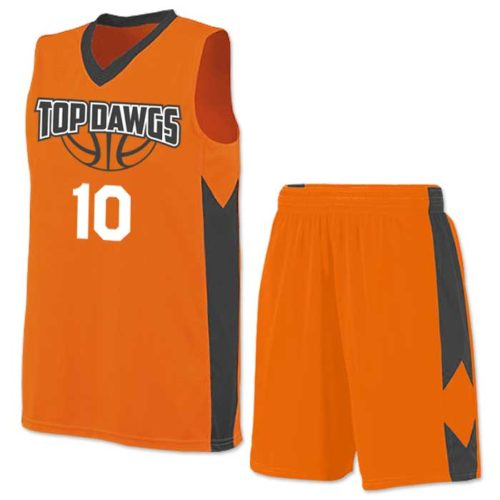 Block Out Basketball Uniform