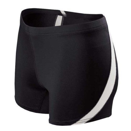 Black Breakline Track Uniform Compression Shorts